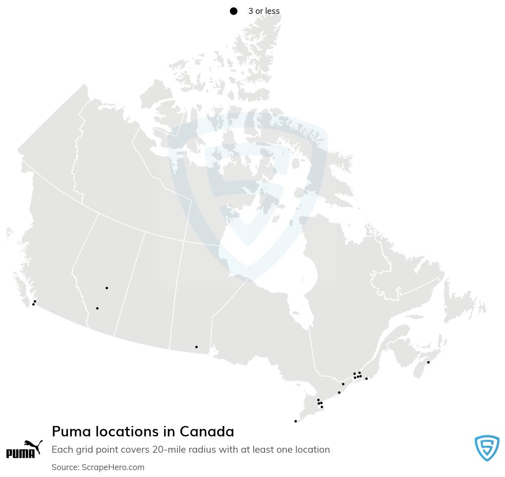 Puma store locations
