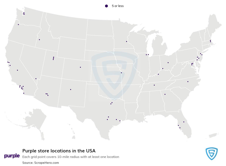 Purple store locations