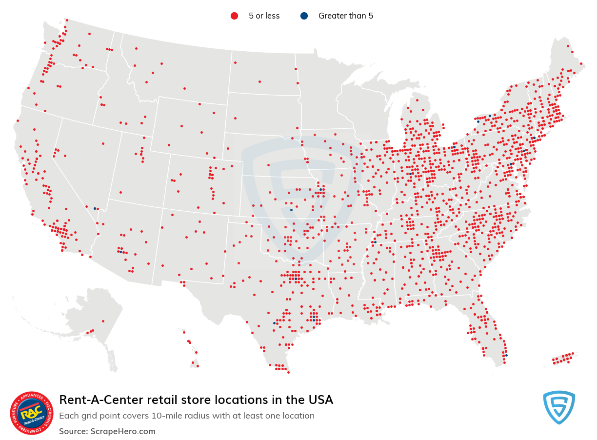 Rent-A-Center store locations