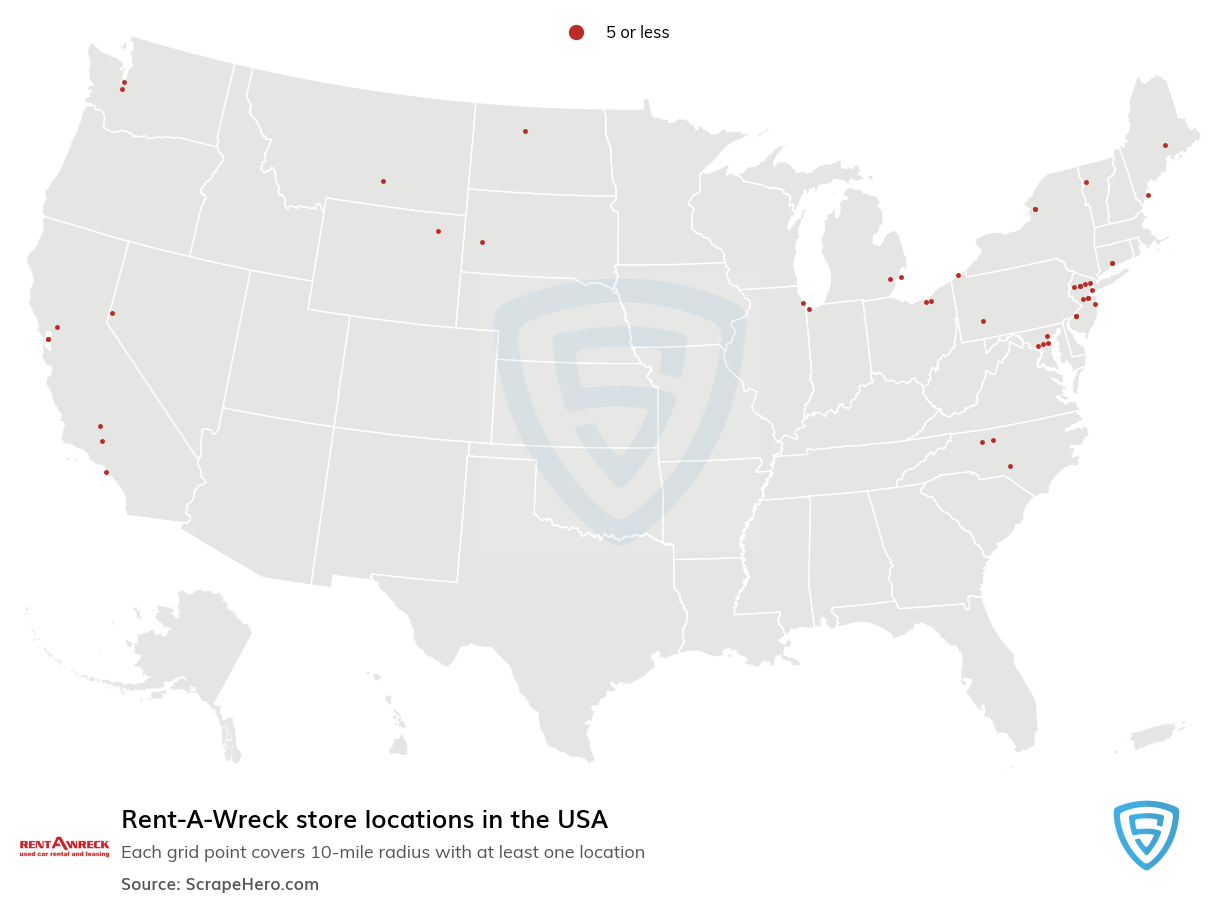 Rent-A-Wreck store locations