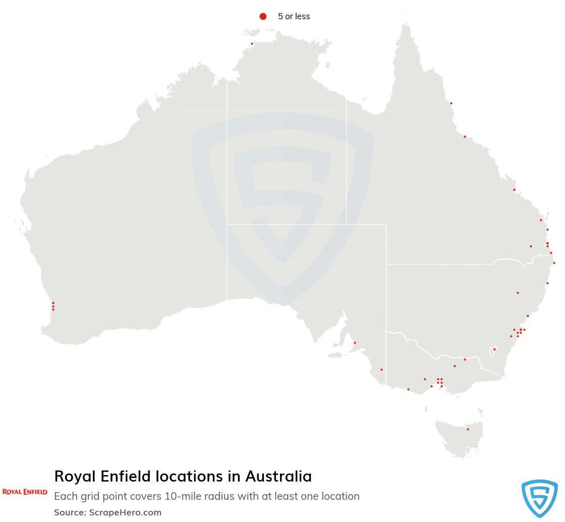 Royal Enfield dealership locations