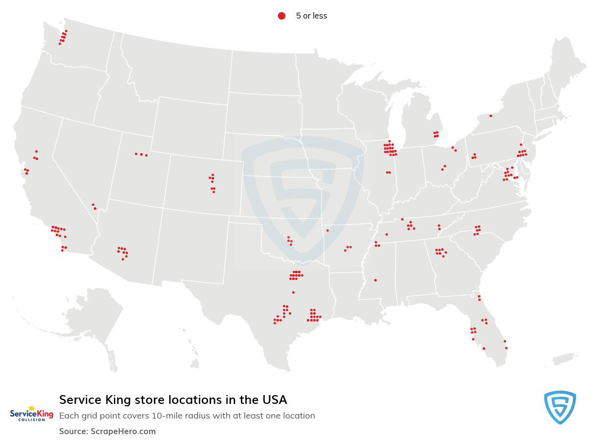 Service King store locations