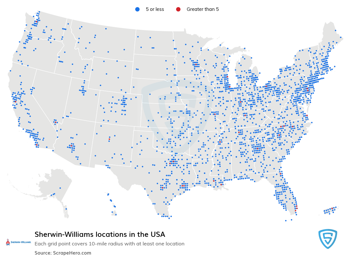 Sherwin-Williams locations