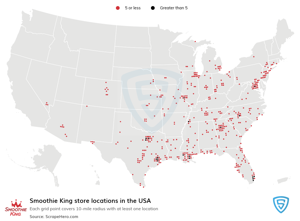 Smoothie King store locations
