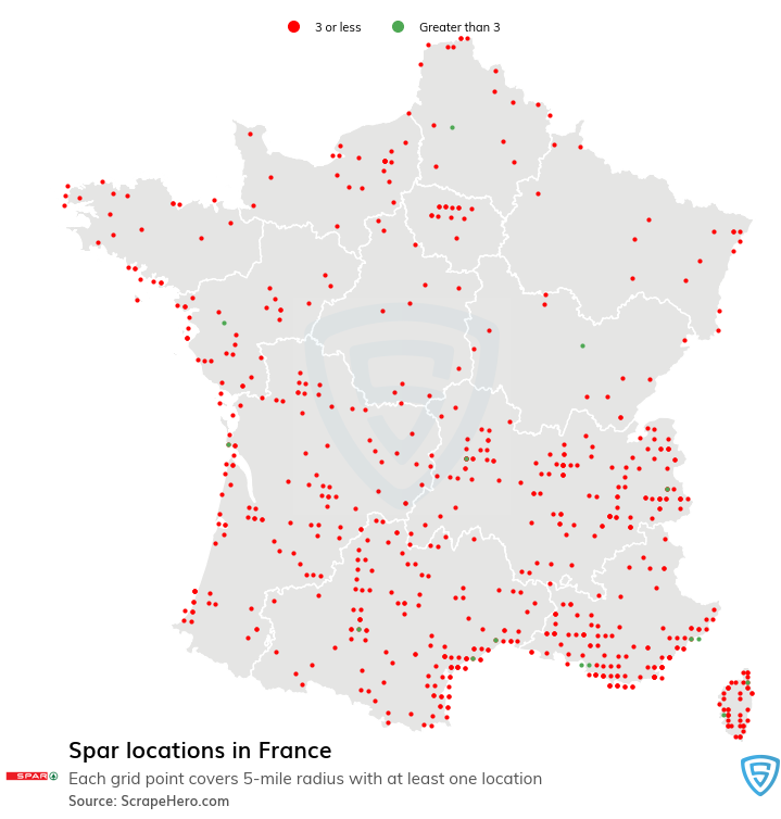 Spar store locations