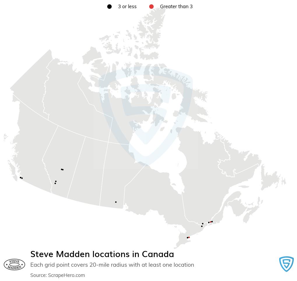 Steve Madden locations