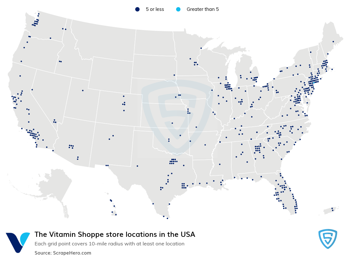 The Vitamin Shoppe store locations