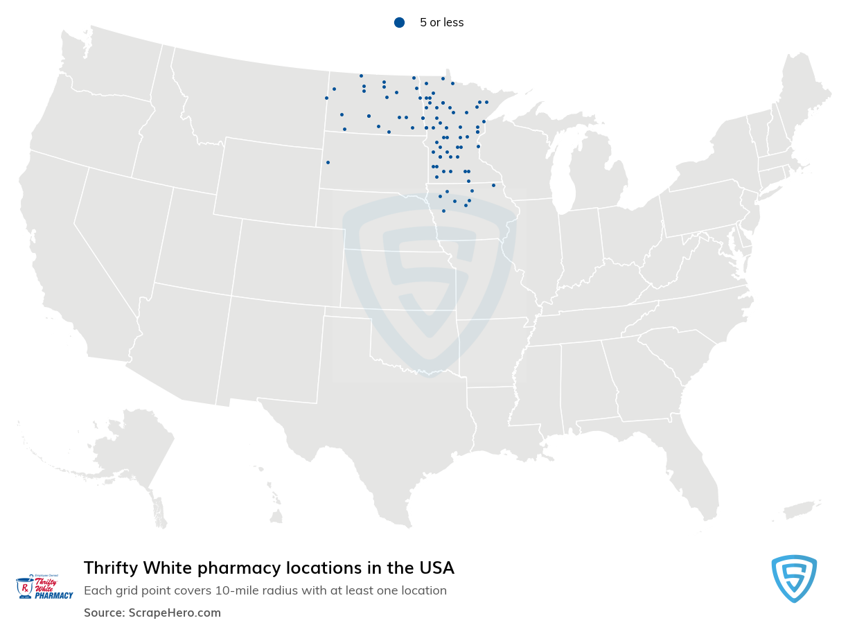 Thrifty White pharmacy locations