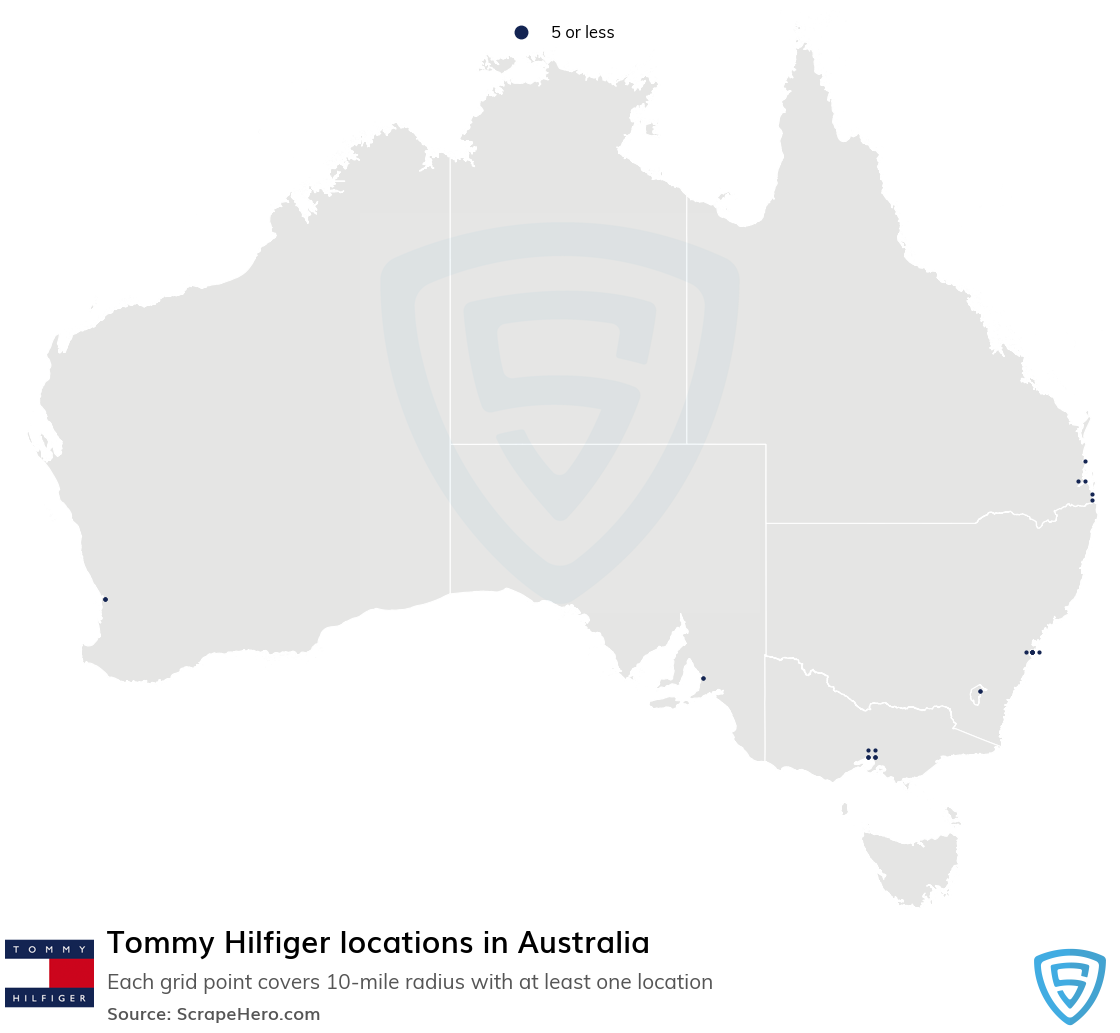 Tommy Hilfiger store locations