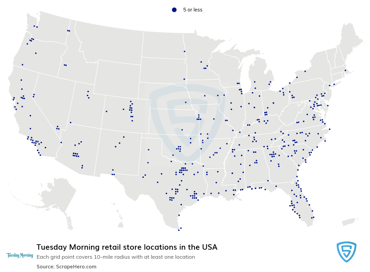 Tuesday Morning store locations