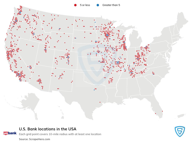 U.S. Bank locations