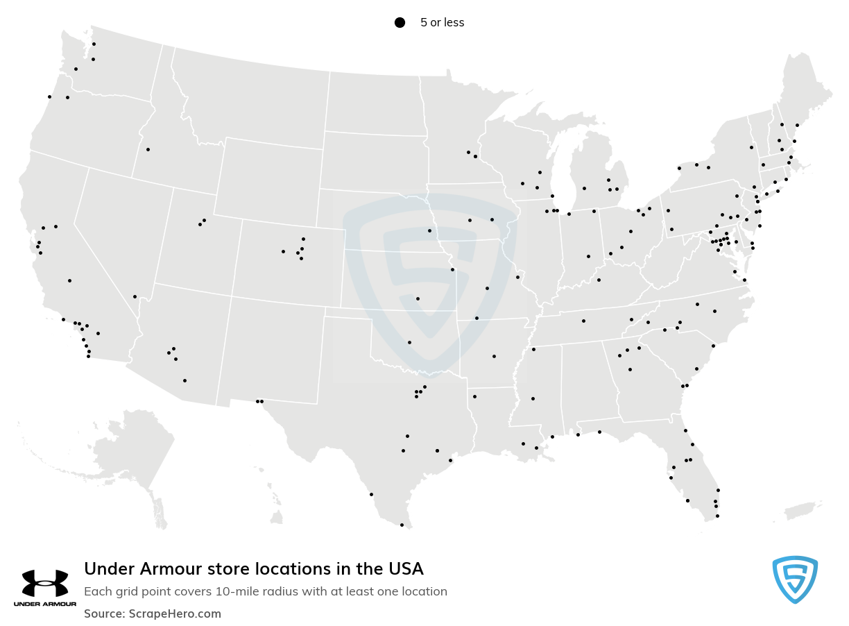 Under Armour store locations