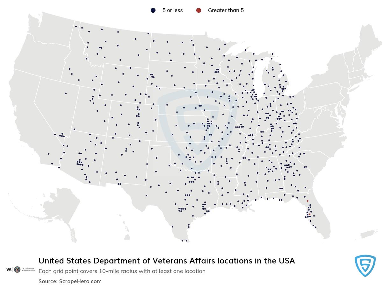 United States Department of Veterans Affairs locations