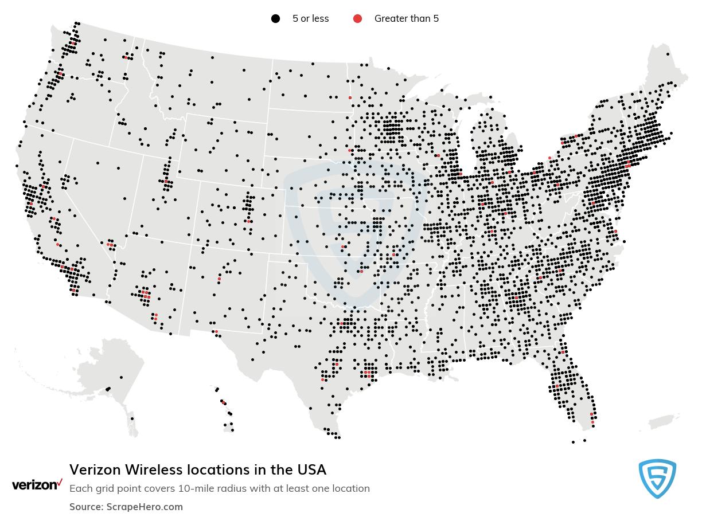 Verizon Wireless locations