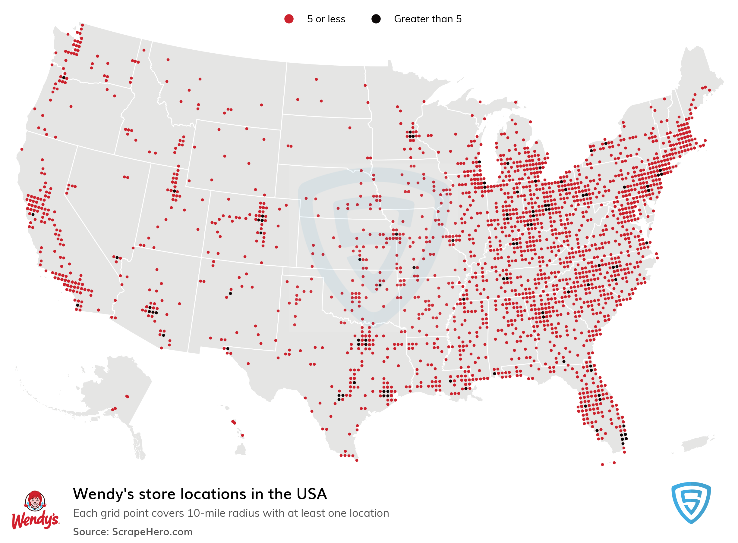 Wendys Store Locations in the USA | ScrapeHero Data Store