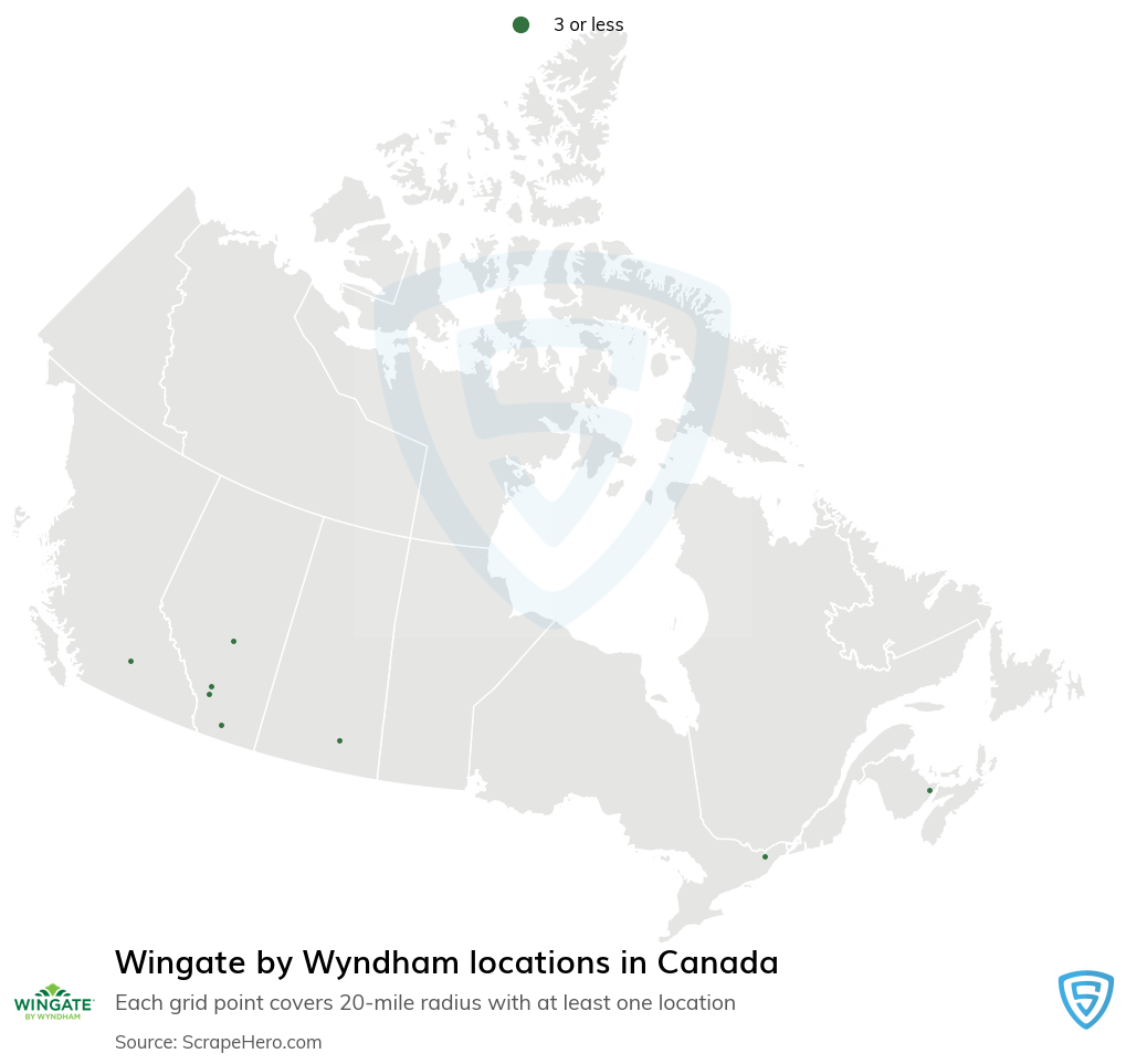 Wingate by Wyndham hotels locations