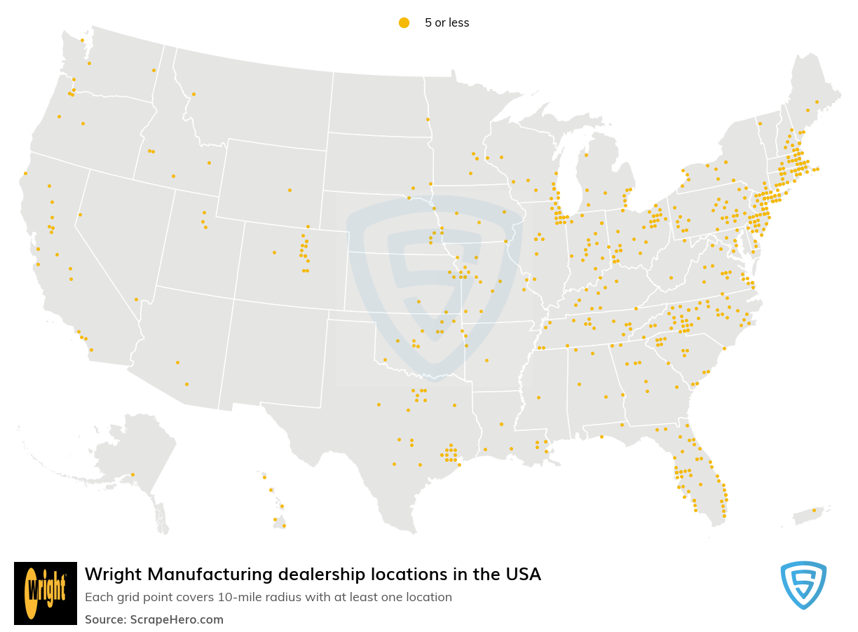 Wright Manufacturing dealership locations