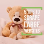 5 tips for scraping big websites