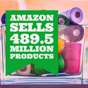 Number of Products sold by Amazon Jan 2016 graphic