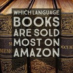 Books sold by language on Amazon