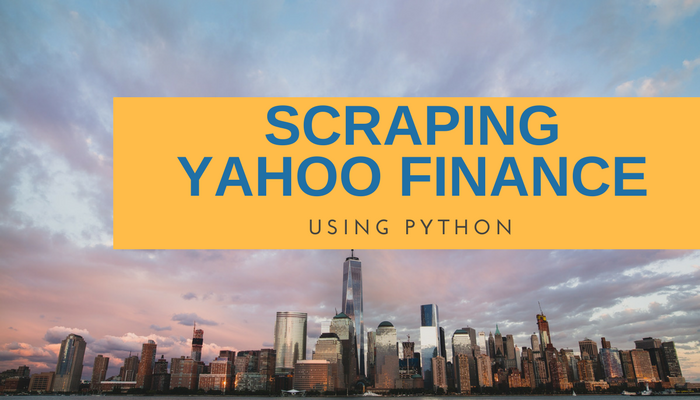How to scrape Yahoo Finance and extract stock market data using Python & LXML