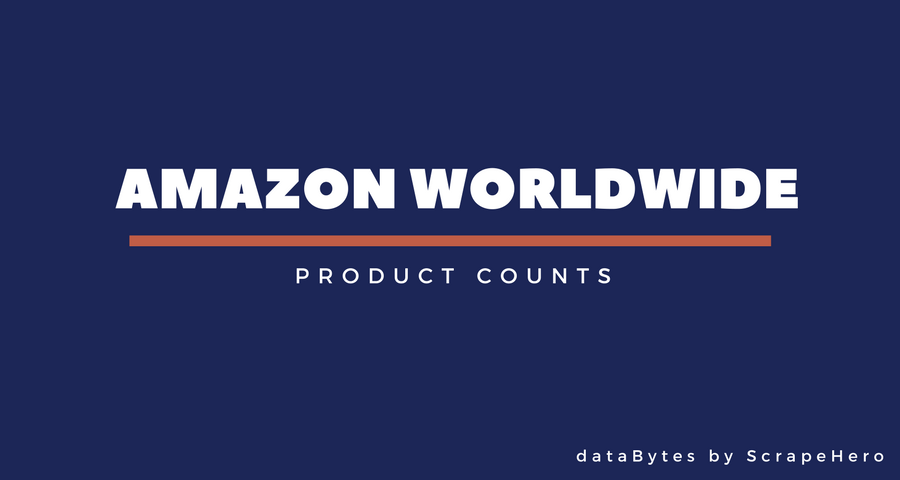 How Many Products Does Amazon Sell Worldwide – August 2017