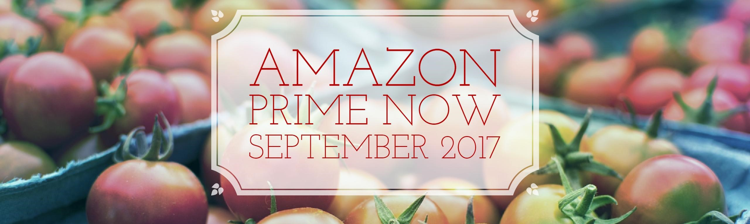 How Many Products Does Amazon Prime Now sell? September 2017 update
