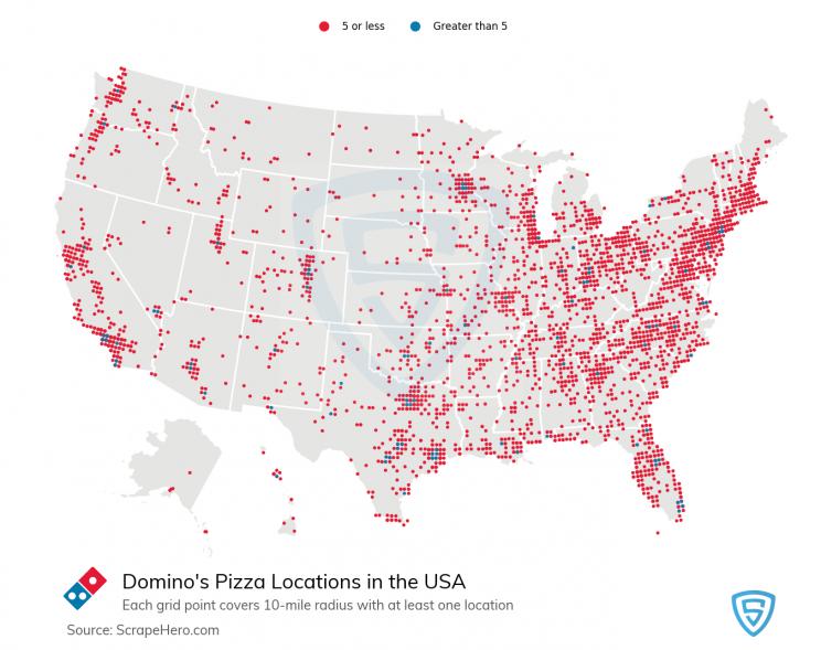dominos-pizza-hut-location-map
