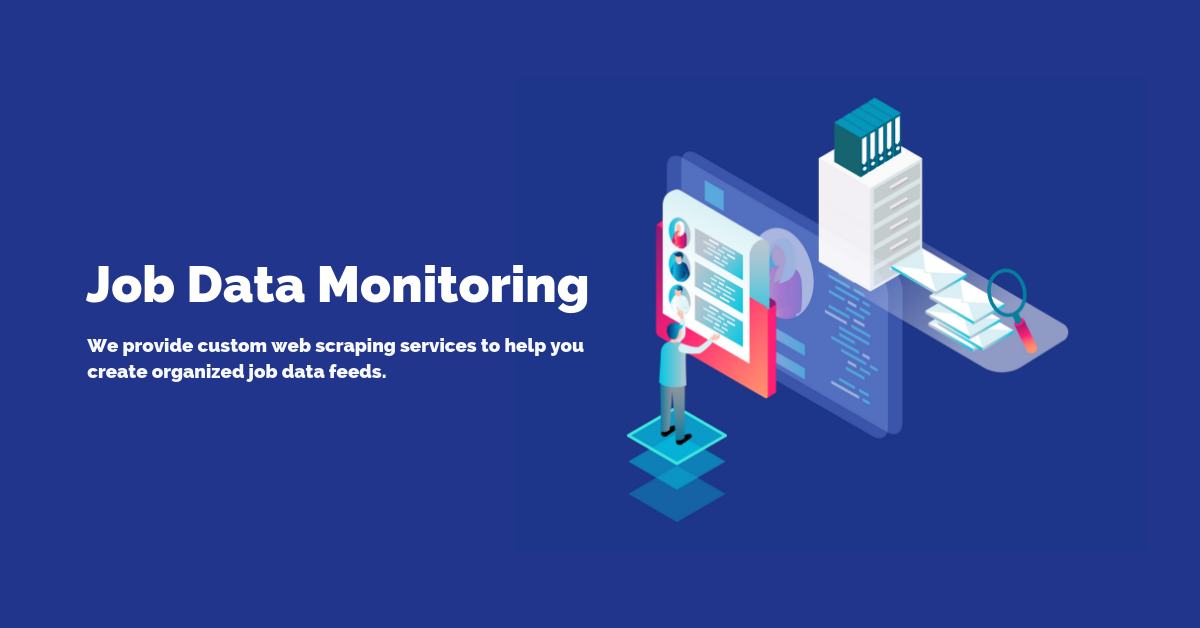 Job Data Monitoring | ScrapeHero