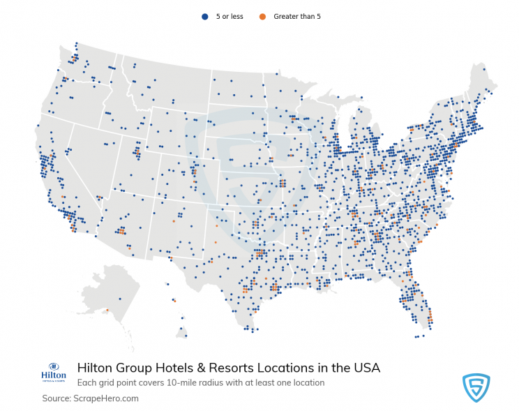 hilton-group-hotels-location-map