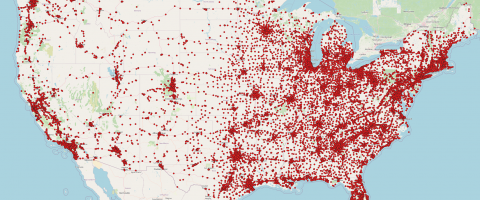 How to plot location data from a CSV file as points on QGIS