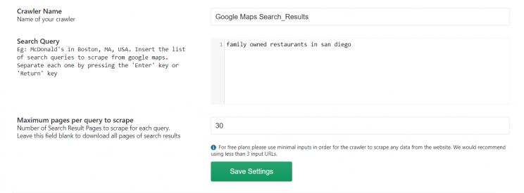 input-to-google-maps-crawler