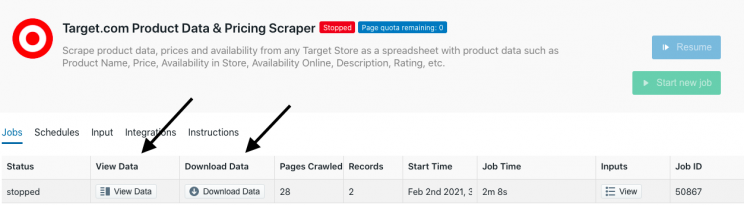 target-scraping-completed