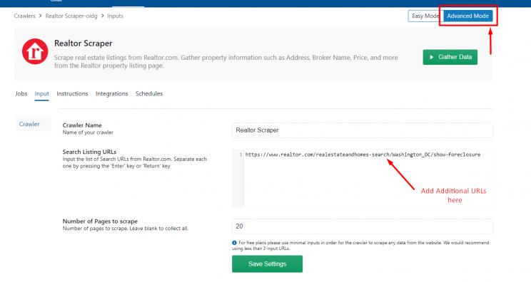 input-foreclosure-url-to-realtor-crawler